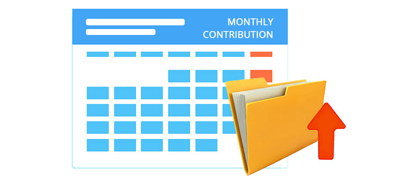 Now upload Monthly Contribution File in ESIC website!