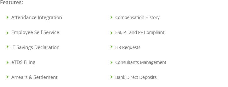 HRMS & Cloud Employee Payroll Software In Bengaluru