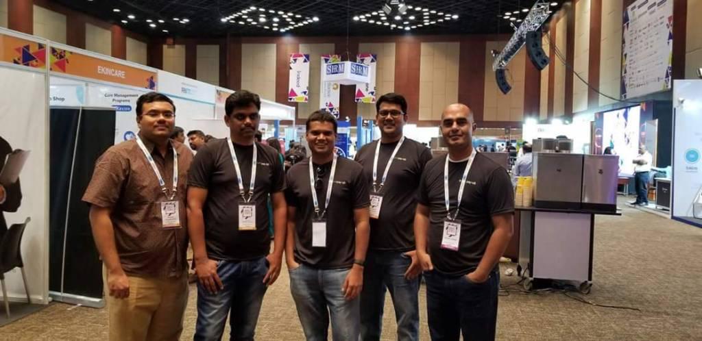 SumoPayroll's Team at SHRM Hyderabad 2018