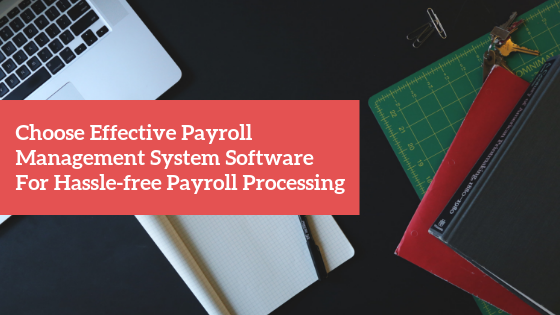 Choose Effective Payroll Management System Software For Hassle-free Payroll Processing