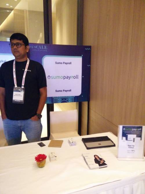 Stall at NASSCOM Product conclave 2018
